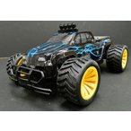 2.4GHz 1/16 オフロード バギーラジコン ピックアップトラックタイプ 黒青 ラジコンバギー