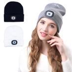 ニット帽 帽子 ニット LEDヘッドライト付き 防寒 帽子 シンプル ニット帽 レディース ニットキャップ メンズ ニット帽 ニットキャップ アウトドア 釣り y1