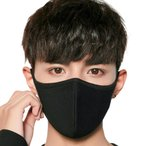 マスク 洗える 布 立体 大きめ マスクフィルター 黒 ブラック 布マスク 大人 抗菌 メンズ レディース 耳が痛くならない 粉塵 花粉 ウイルス飛沫 y1