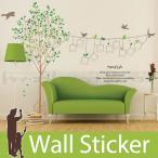 ウォールステッカー 壁 木 ツリー・オフ・ライフ 壁フレーム 2枚セット 貼ってはがせる のりつき 壁紙シール ウォールシール 植物 木 花