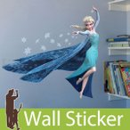 ウォールステッカー 壁 ディズニー キャラクター アナと雪の女王 エルサ 貼ってはがせる のりつき 壁紙シール ウォールシール ウォールステッカー本舗