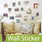 ウォールステッカー 切手 スタンプ 海外切手 世界遺産 アンティーク調 貼ってはがせる ステッカー おしゃれ 北欧 世界の風景 シンボル 建物