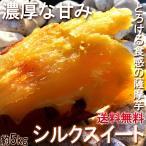 シルクスイート さつまいも 約5kg 千葉県・茨城県産 お得用 家庭用限定 産地箱入り 滑らかな食感と溢れんばかりの甘さ!