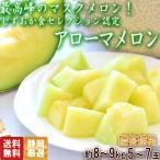 アローマメロン 約8〜9kg 5〜7玉 静岡県産 最高峰のマスクメロン!しずおか食セレクション認定品
