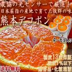 デコポン 熊本 温室 5玉〜7玉 でこぽん オレンジ 贈答用 ギフト 糖度保障100% 果実連の誇るブランド 光センサー 認証 お歳暮 御歳暮 御年賀 お年賀