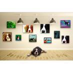 【バーニーズマウンテンドッグ -Interior SML 3Package-】 ワンにゃんアートキャンバス  S×1 M×1 L×1 の3点セット (絵画/犬/インテリア雑貨)
