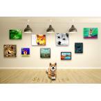 【柴犬 -Interior SML 3Package-】 ワンにゃんアートキャンバス  S×1 M×1 L×1 の3点セット (絵画/犬/インテリア雑貨)
