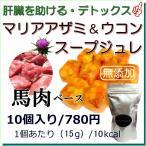 犬用 無添加 手作り スープ マリアアザミ ウコン 馬肉