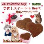 犬用 猫用 バレンタインデー うま!スイートinハート ギフト 馬肉  チョコレート風 スイーツ  人気 ギフト ラッピング 無料 アレルギー 帝塚山WANBANA