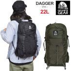 グラナイトギア GRANITE GEAR リュック メンズ レディース ダガー DAGGER 22L ファティーグ ブラック 2211200108