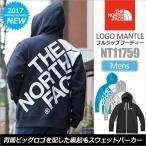 ノースフェイス THE NORTH FACEロゴマントフルジップフーディー 全4色  NT11759 LOGO MANTLE FULLZIP HOODIE
