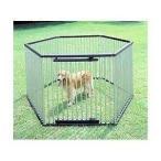ケージ 犬 ゲージ サークル 屋外 ペット 犬用ゲージ 送料無料 パイプ製 ペットサークル UCS-126 犬 オシャレ おしゃれ かわいい インテリア