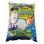 KPG 木粉から生まれた白い砂 ウッディボール8.5L せっけんの香り ペットプロジャパン 猫砂 猫