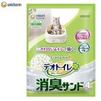 猫砂 ねこ砂 ユニチャーム 1週間消臭・抗菌デオトイレ 取りかえ専用 消臭サンド 4L(D)(LP) 猫砂 ネコ砂 トイレ砂 猫トイレ