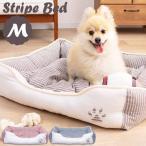 犬 猫 ベッド ペット 通年用角型ペットベッドL PB-T008RD・PB-T008BR・PB-T008GY (D) かわいい おしゃれ