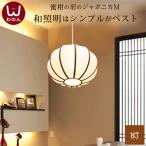 ・楕円型天井照明(M) (和風照明器具 ペンダントライト 和風ペンダントライト 和室 4.5畳 LED)