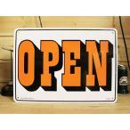 看板/プラサインボード オープン/クローズド Open/Closed(両面プリント) CA-21 *メール便不可