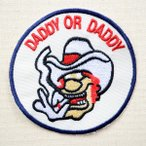 アメリカンワッペン DADDY OR DADDY 名前 作り方 KOF-009
