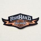ワッペン ハーレーダビッドソン Harley-Davidson(ライドハード) 名前 作り方 LFW-019