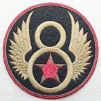 ミリタリーワッペン U.S.Air Force エアフォース アメリカ空軍(8/ラウンド)