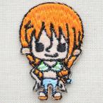 ワッペン ワンピース One Piece ナミ(シール/アイロン両用) PES022