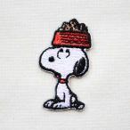 シールワッペン スヌーピー Snoopy(ドッグディッシュ 2) S02Y9456