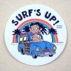 ステッカー/シール ベティブープ Betty Boop(SURF'S UP) 名前 作り方 ST-SLBT01