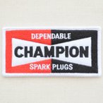 ロゴワッペン チャンピオン Champion(スパークプラグス) WD0077