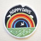 ワッペン HAPPY DAYS 名前 作り方 WP0094