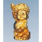 烏枢沙摩明王 |トイレの神様|合金製 純金メッキ仕上 化粧箱入 【高岡銅器 仏像】