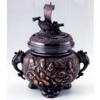 Yahoo!和楽雑貨香炉 香立て  宝船七福神香炉  青銅(ブロンズ)製 【高岡銅器 置物】d61-08