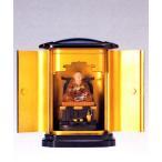 仏像| 弘法大師座像 彩色 PC厨子入り|合金製 【高岡銅器】10z19-6