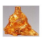 仏像 七福神| 寿老人 純金メッキ 6.7|合金製 【高岡銅器】10z52-6
