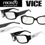 recs VICE (レックス ヴァイス) 伊達メガネ サングラス メンズ レディース GLAY HISASHIさん愛用