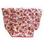 ミニチュア 着物 振袖 衣桁 セッ ト 正絹 ベージュ地 桜紅葉