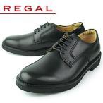 リーガル ウォーカー メンズ ウォーキングシューズ プレーントゥ REGAL WALKER 101W AH ブラック 紳士靴 【消臭スプレープレゼント】