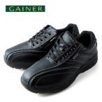 ショッピングウォーキングシューズ ウォーキングシューズ 靴 メンズ GAINER ゲイナー GN003 ブラック スニーカー コンフォートシューズ 4E