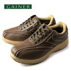 ショッピングウォーキングシューズ ウォーキングシューズ 靴 メンズ GAINER ゲイナー GN003 オリーブ スニーカー コンフォートシューズ 4E