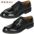 ショッピングリーガルシューズ リーガル 靴 メンズ ビジネスシューズ Uチップ REGAL JU15 AG ブラック 紳士靴 送料無料【消臭スプレープレゼント】
