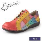 エスタシオン 靴 メンズ estacion WTN155 (MT) 本革 レースアップシューズ カジュアルシューズ