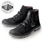 パラディウム PALLADIUM PAMPA PUDDLE LITE WP 93085-068-M 93085-BM  BLACK/METAL ブラック レインシューズ スニーカー  レディース 防水
