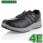 ショッピングウォーキングシューズ ウォーキングシューズ 靴 メンズ GAINER ゲイナー GN012 ブラック スニーカー コンフォートシューズ 4E