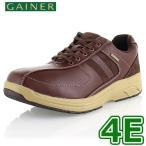 ショッピングウォーキングシューズ ウォーキングシューズ 靴 メンズ GAINER ゲイナー GN012 レッドブラウン スニーカー コンフォートシューズ 4E