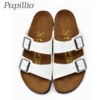 パピリオ papillio アリゾナ ARIZONA 363913 レディース サンダル パテント ホワイト プラットフォーム セール