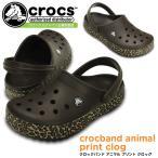 ショッピングサボ クロックス クロックバンド アニマル プリント クロッグ crocs crocband animal print clog 200721 サンダル レディース メンズ