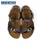 ビルケンシュトック BIRKENSTOCK バリ Bali 1006179 レディース サンダル ブラックパテント バックストラップ 黒