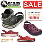 crocs クロックス crocband クロックバンド 11016 レディース メンズ サンダル グレー パープル レッド セール