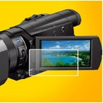SONY 4K  FDR-AXP35/FDR-AX30 デジタルビデオカメラ液晶保護フィルム  指紋防止 光沢タイプ【503-0049】
