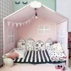 4 ピース/セット 漫画 家形 ベビー ベッドバンパー ベビー ベッドセットルームベッドホーム ソファ 装飾 北欧スタイル 写真 の 小道具