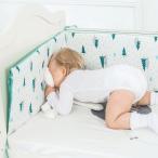 ベビー ベッド バンパー ベビー ベッド 周り クッション バンパー漫画素敵な ガード フェンス 綿 安全保護プロテクター 新生児  幼児